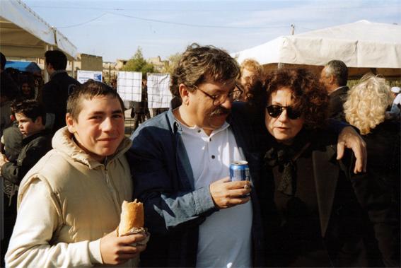 Fiorella Corsi e Ignacio Taibo II, Gela (Cl), 2007