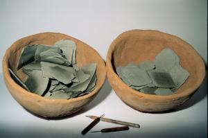 Tavolette, terracotta, Ø cm 34 (2)