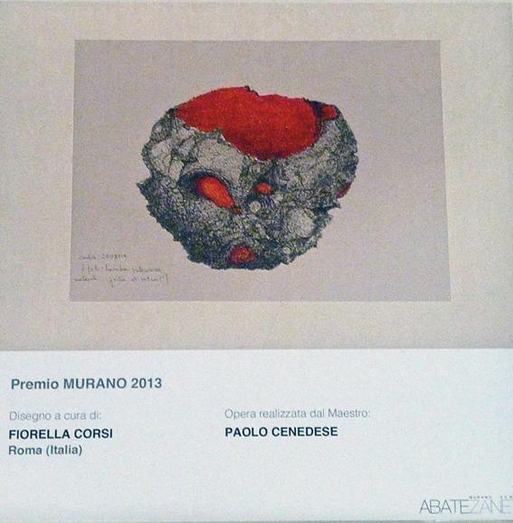 Fiorella Corsi, Premio Murano 2013